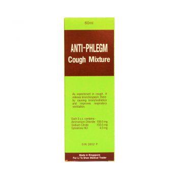 Anti-Phlegm Cough Mixture | Li Ta Shen Medical Trader